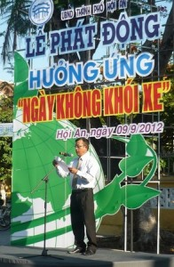 "Hoi An city launched ""Car Free Day"""