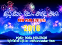 Program of Hội An New Year Festival 2016