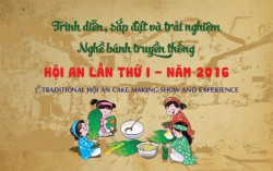 Traditional cake production and taste - Hoi an 2016