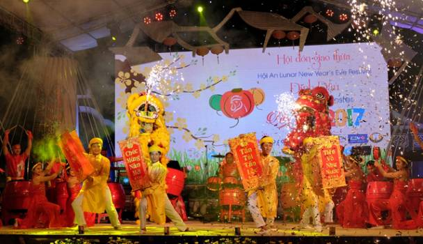 Hội An Lunar New Year festival 2018, year of the dog