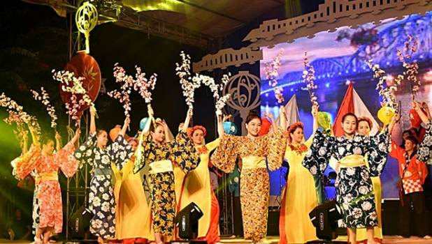 """The 17th Hoi An - Japan cultural exchange 2019"" & Vietnam-international Silk and brocatelle festival 2019"