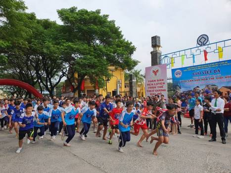 "The running race ""For The World Cultural Heritage of Hội An"" 2020"